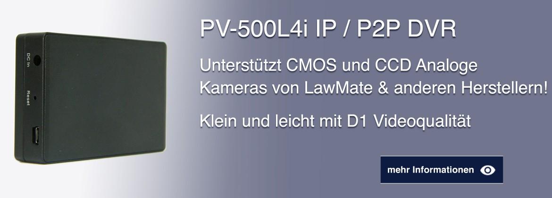 PV-500L4i IP / P2P DVR